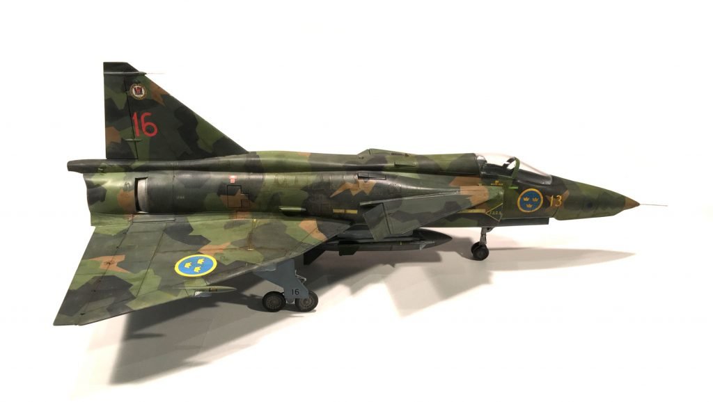 Viggen right view
