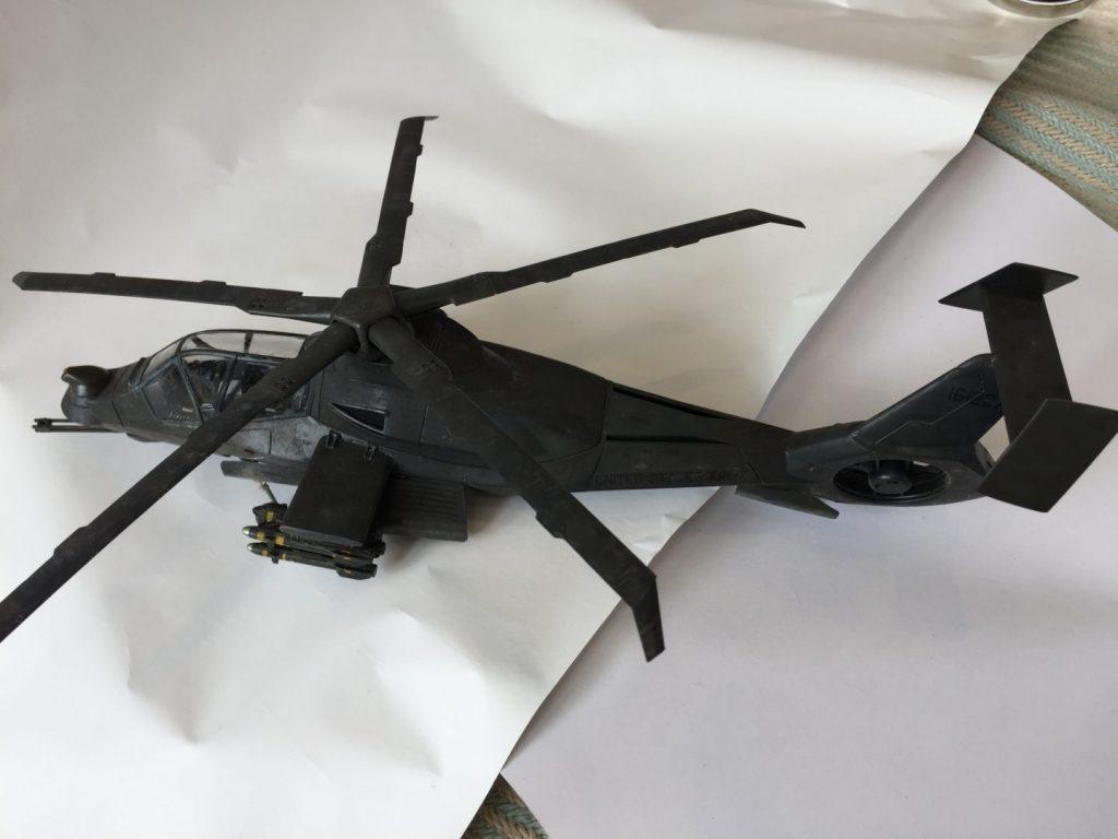 Italeri 1/48 RAH-66 Comanche - Man vs Kit