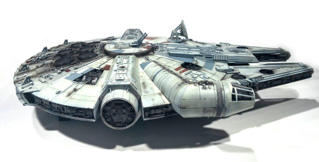 Millennium falcon, right view
