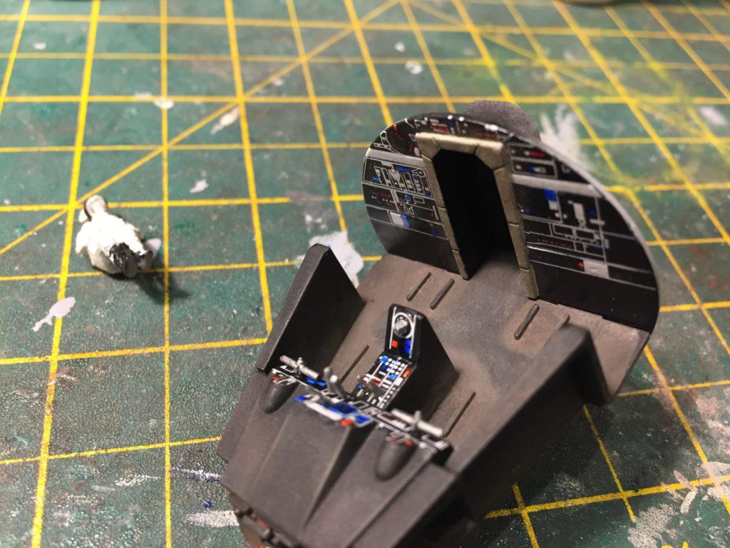 Cockpit front view