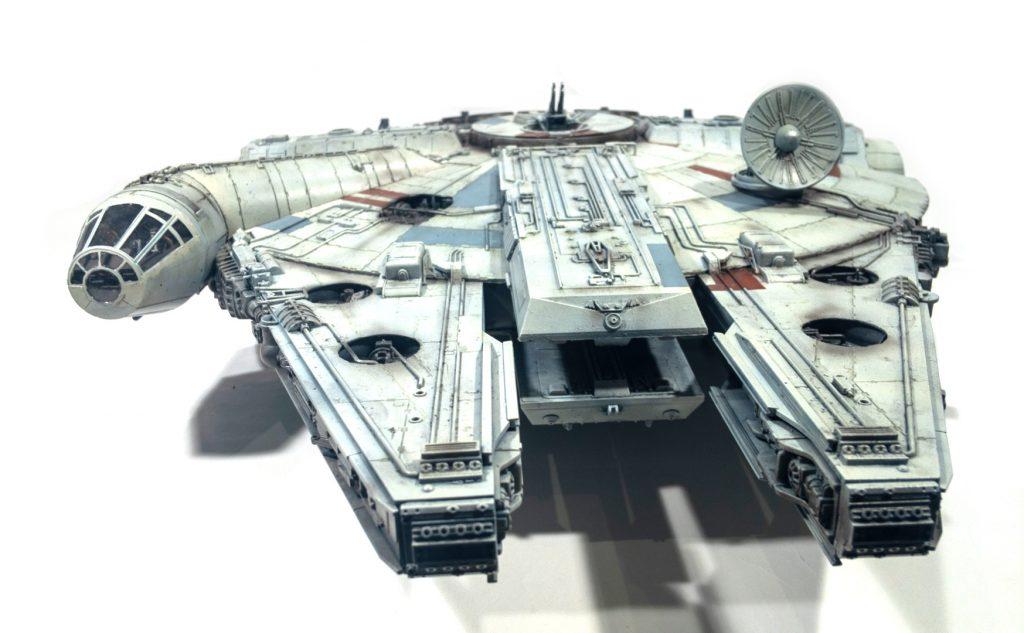 Millennium falcon, front view